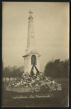 Wimbledon War Memorial ? Just Unveiled.