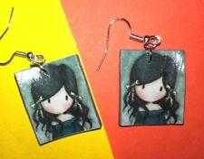 Orecchini creazioni in fimo earrings gorjuss fatti a mano Bijoux  idea regalo