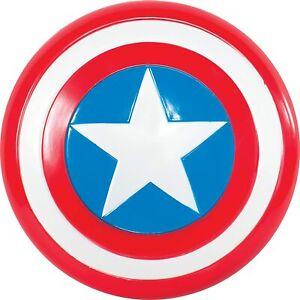 Scudo di Capitan America Avengers Marvel Multicolore, Taglia Unica
