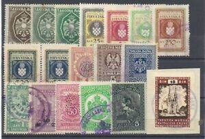 Croatia - (18) Early Revenues  / Excellent condition       -       Lot 0921459