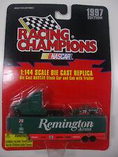 RACING CHAMPIONS NASCAR REMINGTON ARMS 1997 1:144 DIE CAST #75 Car, Cab, Trailer