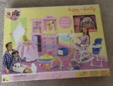 Barbie Happy Vacation Nursery Playset 2002 RARE Mattel
