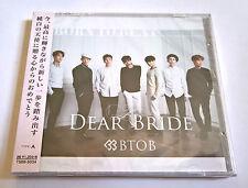 BTOB Dear Bride Japan Press CD Type A with Random Photocard Sealed K-Pop