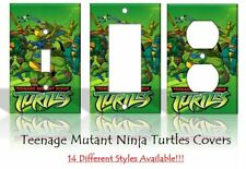 Teenage Mutant Ninja Turtles TMNT Cartoon Light Switch Covers Home Decor Outlet