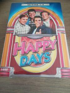 HAPPY DAYS L INTEGRALE SAISONS 1 A 4 COFFRET 14 DVD  NEUF SOUS BLISTER