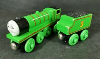 Learning Curve Henry Train  LC99003 For Thomas And Friends Wooden Railway *2
