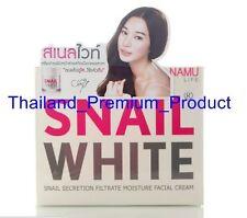 50g NAMU-SNAIL WHITE FACE CREAM REGENERATE RECOVERY RENEW REPAIRING