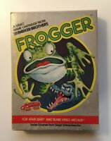Frogger by Parker Brothers - ATARI 2600, 1982 - COMPLETE IN BOX (CIB)