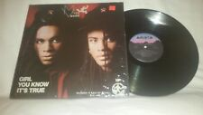MILLIE VANILLI - GIRL YOU KNOW ITS TRUE - 1988 ARISTA RECORDS LP - AD1-9780
