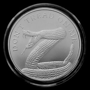 1 oz .999 Silver Don't Tread On Me Coin