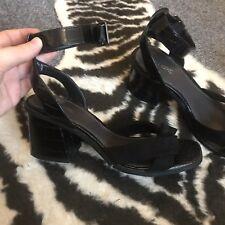 Next Heels Size 5 Black Low Heel Brand New No Box