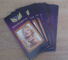 Crazy Angel tan leaflets set of 25