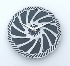 Carbon fibre disc wall clock cycling MTB moutain bike cyclist Fathers day gift