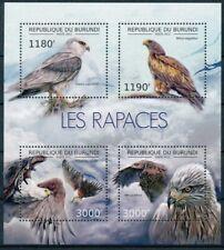 [32421] SUP  **/Mnh    <b>Cote</b> : 19.00eur    - BURUNDI 2012 - Les rapaces, o