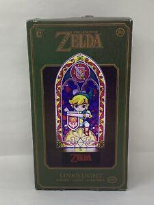 The Legend Of Zelda Link's Light 11.5 Inch Lamp New In Open Box