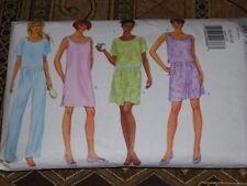 🌷 BUTTERICK #6094-LADIES NIGHTGOWN - NIGHTSHIRT - SHORTS & PANTS PATTERN  14-18