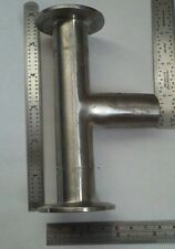 """T TEE, 2 Ends Tri-Clamp® 1 butt weld, Sanitary, 304 SS, No.7 Size 1"""" tri clover"""