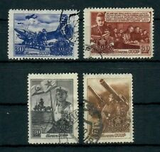 SU4315L36 Russia 1948 Soviet Defence Forces / Army, SG 1345-48, used