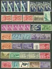 US 40 Commems #1331 - 5¢ Astronaut, 1058 4c Lincoln, #1199 -4¢ Girl Scout Ju MNH
