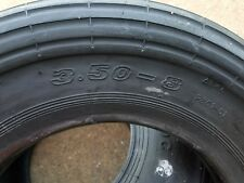 1 New 3.50-8 Rib Wheel Barrow Tire 3.50x8