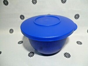 NEW Tupperware 550ml Blue Expressions Bowl with Seal