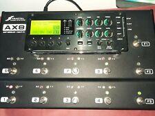 More details for fractal audio ax8 amp and fx modeler