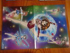 P072.Suzumiya Haruhi no Yuutsu and, 2-sided poster anime manga collectibles