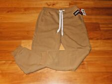 Men's Athletic Sweat Lounge Pants - by Sp Active - Size M (32-34) - Camel Brown
