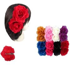12pcs Flower Hairpin Bridal Hair Clip Rose Flower Wedding Party Accessory Lots