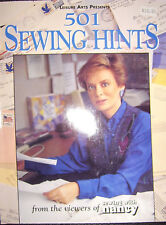 Sewing with Nancy - 501 Sewing tips