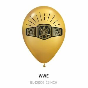 WWE Wrestling Boxing TV Game Birthday Party Supplies Balloons Decorations Banner