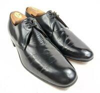 Church's Custom Grade Men's Derby | Size 12 C | Black Leather Dress Shoes