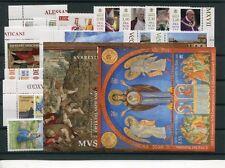 Ватикан  Vaticano 2017- annata completa : 29 valori, 2 foglietti ed 1 libretto