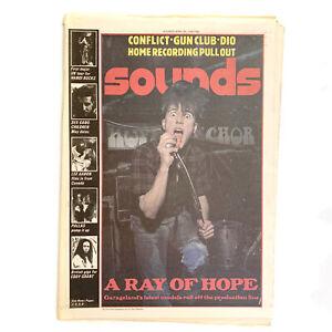 Sounds 30 April 1983 - Alex,Stingrays,Conflict,The Gun Club,Ronnie James Dio
