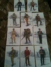 Set x 11 Military Postcards Royal Army Medical Corps RAMC Alix Baker