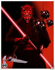 Darth Maul Fan Expo Exclusive poster print Star Wars Episode I - Phantom Menace