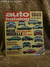 Auto Katalog Autokatalog AMS 1985 Nr. 28