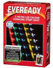 New Beautiful Eveready Colour Changing LED Strip Light 5m good choice as a gift.