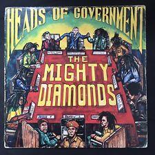 THE MIGHTY DIAMONDS Heads of Government REVOLUTIONARY SOUNDS JAMAICA ORIGINAL LP