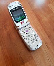 Panasonic EB-X60 Fold-Phone / Klapphandy in silber
