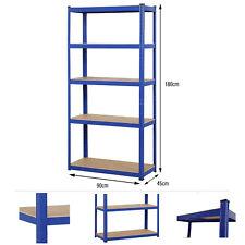 Steckregal 1325 kg Werkstattregal Kellerregal Schwerlastregal Garage Regal blau