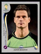 Panini World Cup 2014 (Swiss Platinum Version) Asmir Begovic BiH #433