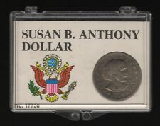 More details for 1979 p susan b anthony cased dollar coin | world coins | pennies2pounds