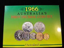 Australian 1966 Uncirculated Mint Set Sherwood  #zz3