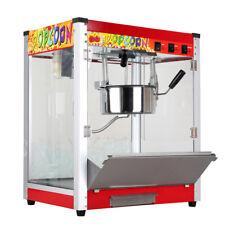 Nzl 220v Electric Popcorn Machine Commercial Cinema Theatre Popper Maker 8 Oz