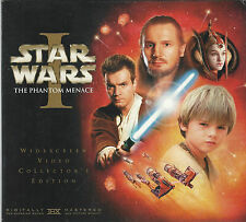 Star Wars Episode 1 I The Phantom Menace Widescreen Collector's Edition VHS Tape