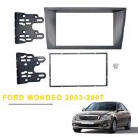 For Ford Mondeo Facia 2Din Fascia Panel Install Kit Dash Trim Stereo Surround