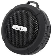 Coby CSBT-328 Waterproof Portable Handheld Bluetooth Speaker - Black