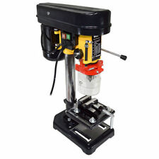 "Wolf 5 Speed 13mm Pillar Drill Press Bench Top Mounted With 2½"" Vice - 2 Year"