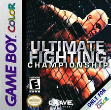 Ultimate Fighting Championship GBC New Game Boy Color